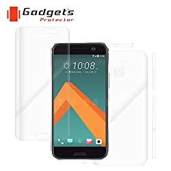 Gadgets Protector 75777304 HTC 10 Total Body Protection - mobile scratch guard - screen guard - Screen Protectors - skins