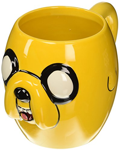 Tazza 3D, ca. 310 ml, soggetto: Jake di Adventure Time