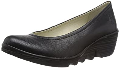 Fly London Pump Womens Casual Shoes 2 / 35 Black