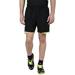 Klamotten Black & Green Jogging Shorts (32)