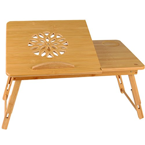 Lapdesk - Portable, Adjustable Tray, Stand, Bed Table with Decorative Vent - for Laptop Computers, Tablets and Books (Study Tray compare prices)