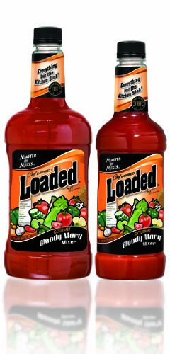 Master of Mixes Loaded Bloody Mary Mixer, 1 Lt (Pack of 12) (Mary Masters compare prices)