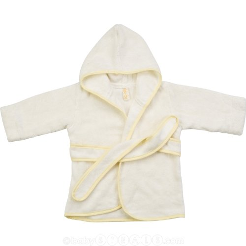 SHOO-FOO 100% Bamboo Baby Hooded Bathrobe - 550 gsm (2-12 months)