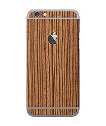 dbrand Zebra Wood Back Split Mobile Skin for Apple iPhone 6