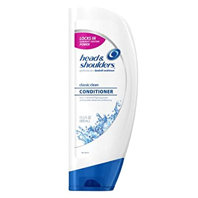 Head & Shoulders Classic Clean Dandruff Conditioner 13.5 Fl Oz (Pack of 2)
