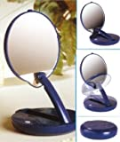 Magnifying Lighted and Adjustable Compact Mirror (15x Magnifying)