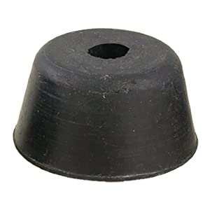 10 Pcs 40mm x 22mm Furniture Cone Rubber Feet Pad Cove Bumper