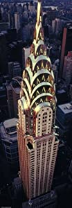 Heye 29552 - Verticalpuzzle, Sights, Chrysler Building, 1000 Teile