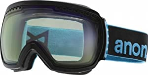 Anon Comrade Goggles Ski Snowboard Optics Eyewear Multiple Colours - New 2014 (Black with Blue Lagoon)