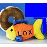The Ultimate Chewish Toy Nosh For Your Jewish Dog The Stuffed Plush Lox And Bagel (With A Shmear)