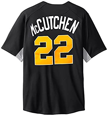 MLB Pittsburgh Pirates Men's Andrew McCutchen 22 Fever Player Jersey