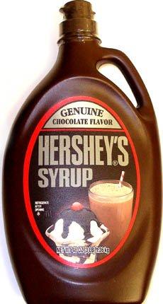 Hershey's Chocolate Syrup Genuine Chocolate Flavour 1.36kg