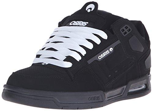 OSIRIS Peril (nero/bianco) EU 38,5 - US 6,5 - Scarpa da skate