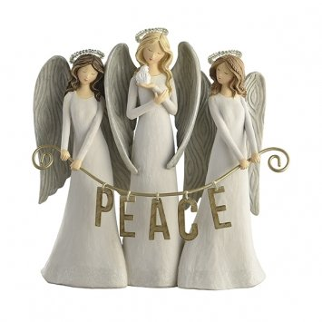 Triple Angel Figurine, Grasslands Road