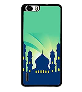 printtech Building Holy Back Case Cover for Huawei Honor 6 ,Versions: - H60-L01 TDD LTE (Single SIM) - H60-L02 FDD&TDD LTE, HSDPA - H60-L04 FDD&TDD LTE, HSDPA (Single SIM) - H60-L12 FDD LTE, HSDPA, NFC - H60-L12 FDD LTE, NFC