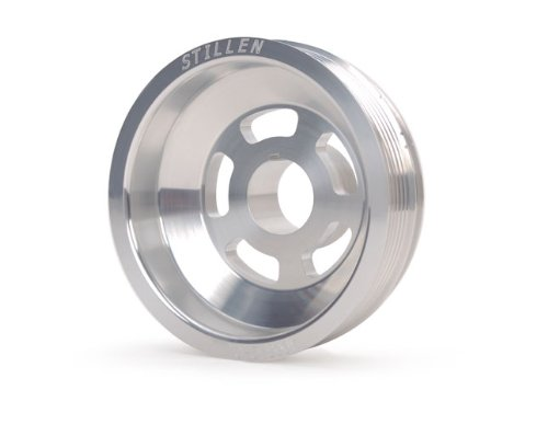Stillen 400342 Underdrive Performance Lightweight Crank Pulley - 02-06 Altima / Maxima 3.5L front-1074189