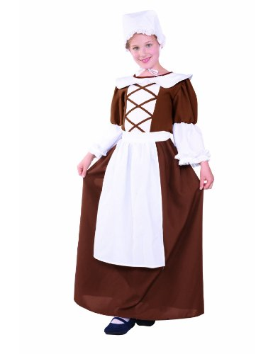 Teen 16-18 Colonial Peasant Costume