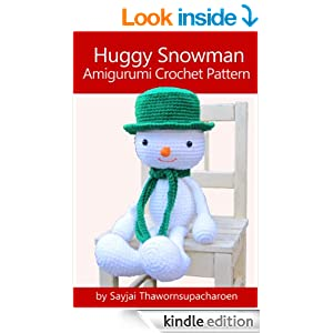 Huggy Snowman Amigurumi Crochet Pattern (Huggy Christmas Dolls Book 2 ...