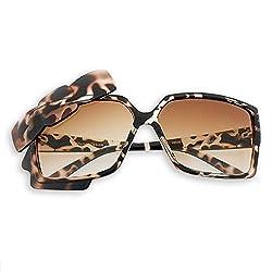 Archies UV Protected Wayfarer Women Sunglasses (Brown Frame)-SG-8901286953351