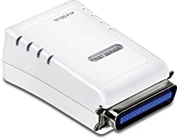 TRENDnet 1-Port Parallel Print Server TE100-P1P (White)