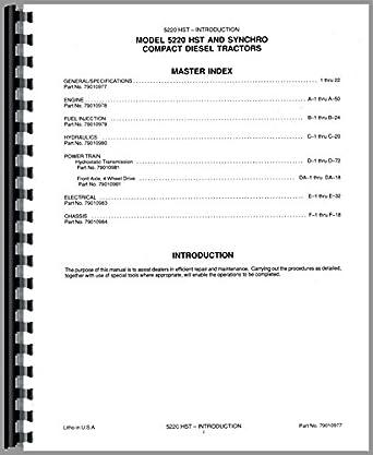 Deutz (Allis) 5220 Tractor Service Manual: Amazon.com: Industrial