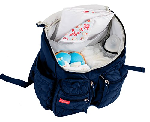 diaper backpack with stroller straps kaydee diaper bags baby canvas diaper tote backpack bag. Black Bedroom Furniture Sets. Home Design Ideas