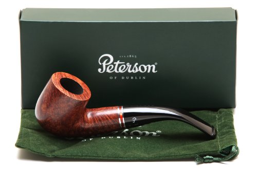 Peterson Dalkey 01 Smooth Tobacco Pipe Fishtail
