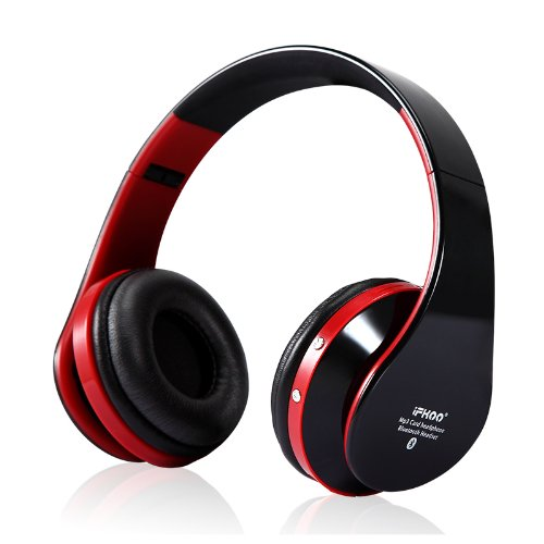 Ifkoo Ne-750 Wireless Bluetooth Headset Super Hifi Stereo Headphone Bass Surround Sound With Microphone Denoise With Tf Slot (Black)