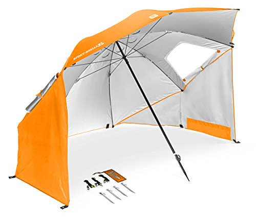 sport brella portable sun and weather shelter vol orange x large home garden lawn garden. Black Bedroom Furniture Sets. Home Design Ideas