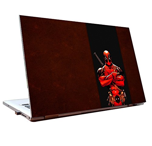 JunkYard Laptop Skins 15.6 inch Deadpool Movie skins HD Quality Dell Lenovo HP...