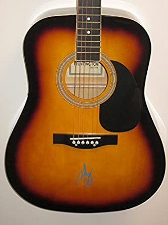 zac brown signed autograph acoustic guitar country music chicken fried knee deep at amazon 39 s. Black Bedroom Furniture Sets. Home Design Ideas
