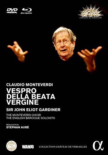 Monteverdi: Vespers of Blessed Virgin [DVD + Blu Ray]