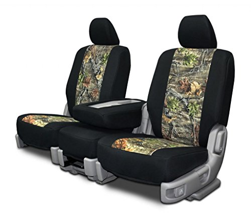 Custom Seat Covers for Dodge Mega-Cab Front Low Back Seats -Superflauge Neo-Camo (2006 Dodge Ram Camo Seat Covers compare prices)
