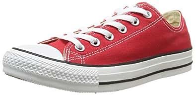 Converse - Chuck Taylor All Star - Farbe: Rot - Größe: 35.0