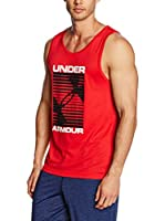 Under Armour Top Ua Turned Up Tank (Rojo)