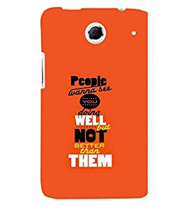 TOUCHNER (TN) People Wanna See Back Case Cover for Lenovo S880