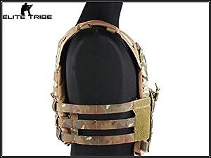 militaire Paintball veste combat tactique JPC gilet de combat MOLLE style Multicam MC