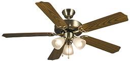 Hardware House 41-5927 Palladium 52-Inch Triple Mount Ceiling Fan Light, Dark Oak or Beechwood