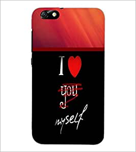 PrintDhaba Quote D-2699 Back Case Cover for HUAWEI HONOR 4X (Multi-Coloured)