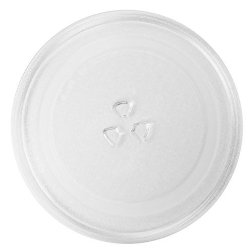 spares2go-universal-glass-turntable-plate-for-all-makes-of-microwave-oven-255mm-10-diameter-by-spare