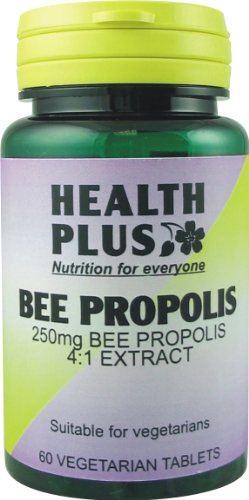 Health Plus Bee Propolis Antioxidant and Energy Supplement 1000mg (60 Tablets)