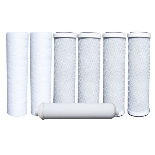 Watts 7-PK RO Filters Premier 1-Year 5-Stage Reverse Osmosis Replacement Filter Kit