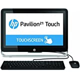 """HP TouchSmart 21-2024 - All-in-One 21"""" Touch Desktop - AMD E1-6010 1.36GHz, 4GB RAM, 500GB HDD, Windows 8 Pro (Certified Refurbished)"""