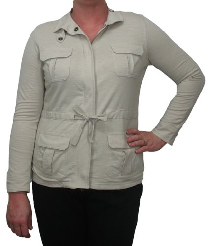 Women's Four Pocket Jacket in Natural by Tribal