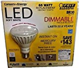 Feit Electric Br30 Flood Dimmable 13w/65w LED Light Bulb 750 Lumens 120° Degree