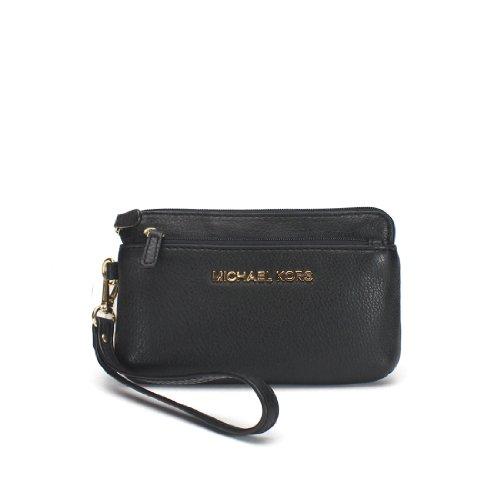 Michael Michael Kors Bedford Medium Wristlet Wallet, Black