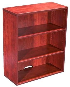 Boss Open Hutch/Bookcase, Cherry