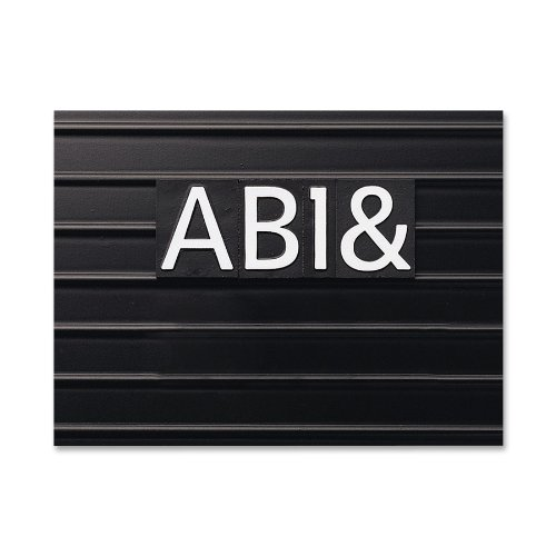 Quartet characters for magnetic letter boards helvetica for 2 inch letter board letters