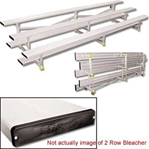 15 Bleachers Tip N Roll 2 Row from Alumagoal