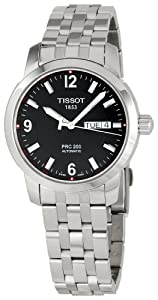 Tissot Men's T0144301105700 PRC 200 Black Dial Watch